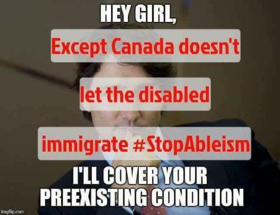 Trudeau Meme corrected