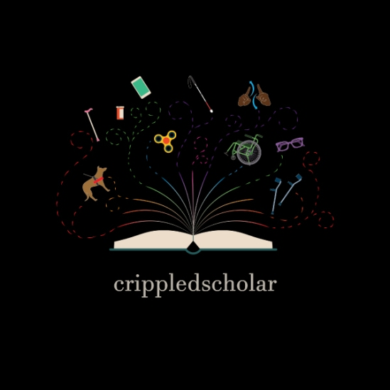 colourful crippledscholar logo